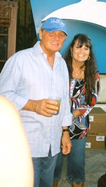 Bruce Johnston with Wife Margie
