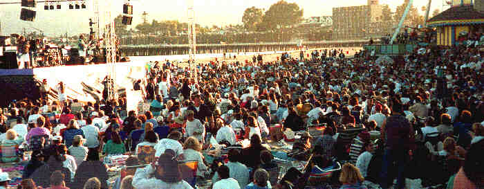 Santa Cruz Beach Boardwalk Concert One Glorious Night Every Summer For 26 Years